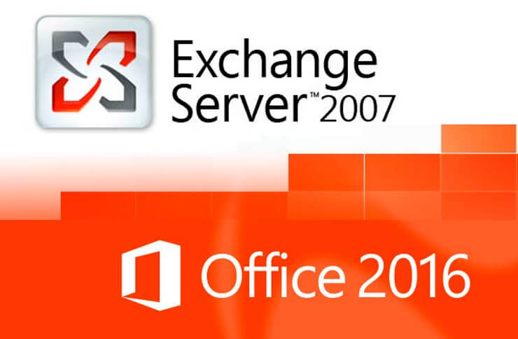 exchange2007office2016
